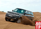 Range Rover IV: První jízdní dojmy