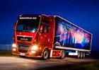 MAN: Vánoční kamion vyrazil na cestu