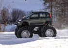 Fiat Panda Monster Truck: Maxipanda oficiálně