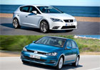 SEAT Leon vs. VW Golf: Co koupit?