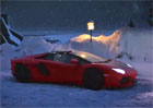 Video: Santa Claus vyměnil soby za Lamborghini Aventador LP700-4 Roadster
