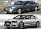 Designový duel: Citroën C6 vs. 2x Audi A6