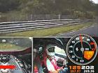 Video: Bourající Ferrari 458 Challenge v rychlosti 220 km/h