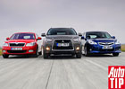 Srovnávací test LPG: Subaru Legacy Kombi vs. Mitsubishi ASX vs. Škoda Octavia Combi