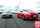 Mazda 3 MPS vs. Ford Focus ST - Sportov�n� za hubi�ku?