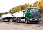 Scania R730 8x4: Souprava pro dopravu rudy