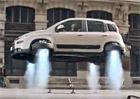 Reklamy, které stojí za to: Létající Fiat Panda Trekking