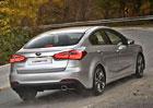 Kia Cerato: Cee'd sedan dostane benzinové čtyřválce, do Evropy se nepodívá