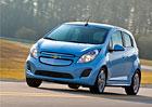 Elektromobil Chevrolet Spark EV zamíří do Evropy v roce 2014