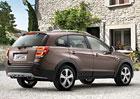 Chevrolet Captiva 2013: Diody a vylepšený interiér