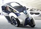 Toyota i-Road: Tříkolový koncept pro město