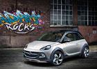 Opel Adam Rocks: Oplastovan� stylovka s pl�t�nou st�echou