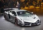 Lamborghini Veneno: Nejrychlejší býk s 552 kW oficiálně
