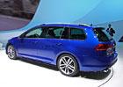 Prvn� statick� dojmy: Volkswagen Golf Variant nab�z� objem zavazadeln�ku 605 litr�