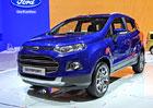 Ford EcoSport: Evropská verze malého SUV s technikou Fiesty a zvýšenou světlou výškou