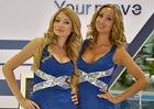 Nejkrásnější modelky z autosalonu v Moskvě. Která je vaše favoritka?