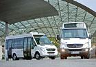 Minibusy Mercedes-Benz: Pět řad