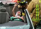 Video: Takto vypadá vyprošťování raněného z vraku auta