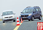 Srovn�vac� test: Dacia Dokker vs. VW Caddy