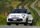 Sedmimístný Fiat se přejmenuje, bude 500L+