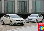 Renault Fluence 1.6 vs. �koda Rapid 1.2