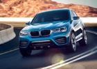 BMW X4 Concept: Nové fotografie mnichovského crossoveru