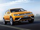 VW CrossBlue Coupe: Sportovní Touareg se začíná rýsovat