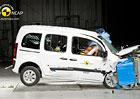 Euro NCAP 2013: Mercedes-Benz Citan Kombi – Jen tři hvězdy