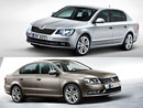 Volkswagen Passat vs. �koda Superb