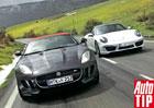 Jaguar F-Type vs. Porsche 911 Cabrio: Návrat se vší parádou