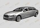 Jaguar XJ: Patentové nákresy odhalují XXL verzi