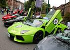 Lamborghini slaví 50 let: 350 býků na jednom místě (fotogalerie + video)