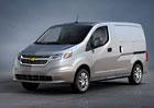 Chevrolet nabídne v USA a Kanadě svou verzi Nissanu NV200