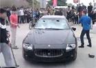 Video: Likvidace Maserati na čínský způsob