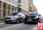 Srovnávací test: Kia Carens vs. Peugeot 5008