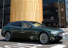 Unikátní kombi Maserati Quattroporte jde do prodeje