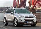 Opel Antara výrazně zlevňuje, stojí od 412.400 Kč