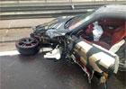Gumball 3000 2013: t�et� (a posledn�) hav�rie supersportu