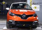 Euro NCAP 2013: Renault Captur – Pět hvězd pro sourozence Clia