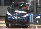 Euro NCAP 2013: Nissan Evalia – Tři hvězdy za špatnou ochranu cestujících