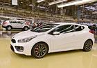Kia spustila výrobu sportovní verze modelu Cee´d
