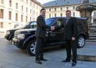 Land Rover zapůjčí Správě Pražského hradu čtyři vozy
