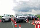 Srovnávací test: Ford Kuga vs. Toyota RAV4 vs. Citroën C4 Aircross vs. Subaru Forester