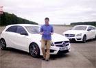 Mercedes-Benz A 45 AMG vs. CLS 63 AMG - kdo sprintuje rychleji? (video)
