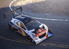 Sébastien Loeb a Peugeot 208 T16 poprvé na Pikes Peaku (video)