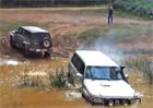 Video: Nissan Patrol úspěšně vytáhl z bryndy mladšího bráchu