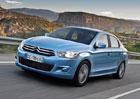 Citroën C-Elysée: Levný sedan za akční cenu od 212.900 korun