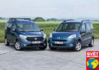 Dacia Dokker 1.5 dCi vs. Peugeot Partner Tepee 1.6 HDi - Rodinn� brig�da