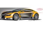 Bugatti babyVeyron: Vize nezávislého italského designéra