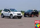 Peugeot 2008 1.6 e-HDI vs. Renault Captur 1.5 dCi - D�v�� �hel pohledu